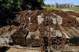 100 Old Semi Trucks Collection Of Old Rusty Tie Chains For Semi Trucks And Trailers