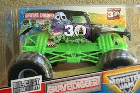 100 Digger Truck Videos Hot Wheels Monster Jam Grave 30th Anniversary 1 24