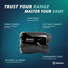 tectectec vpro500 golf rangefinder laser range finder with
