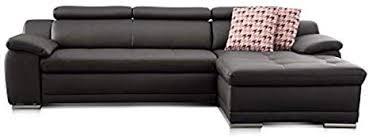 cavadore ecksofa aniamo mit xl longchair rechts inkl verstellbarer kopfteile und wellenunterfederung sitzecke für wohnzimmer in kunstleder 270