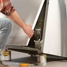 Whirlpool Refrigerator Leaking Water On Floor by How To Repair A Leaking Washing Machine Family Handyman