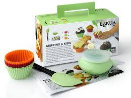 materiel cuisine patisserie kit muffins lékué kit muffins moule à cupcakes en