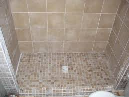 tile shower floor one house one