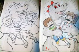 Childrens Coloring Books Made Instantly Nsfw 25 Photos 6 Corrupted Are Darkly Brilliant