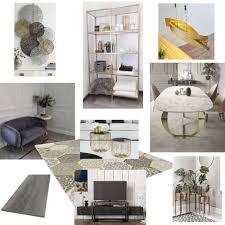 wohn esszimmer interior design mood board by jill cathrin