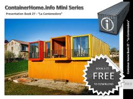 100 Free Shipping Container House Plans Homes Book 27 By Shippingcontainerhomes