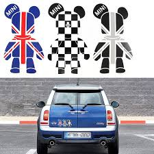 100 Cool Truck Stickers Amazoncom 3 Pcs Mini Cooper Cute Bears Exclusive Car Window