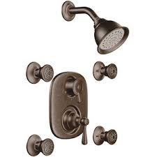 Moen Oil Rubbed Bronze Bathroom Accessories by M263orb M3330 Kingsley Two Wall Power Custom Shower System Oil