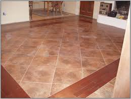 uneven tile to wood floor transition tiles home decorating