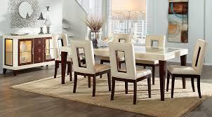 sofia vergara savona ivory 5 pc rectangle dining room dining
