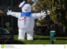 Large Blow Up Halloween Decorations by Ghostbusters Stay Puft Marshmallow Man Decoration Editorial Photo
