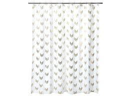 gold and white polka dot shower curtain gold and white shower
