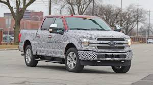 100 Tucker Truck Parts Ford F150 Electric Pickup Spotted In Swirly Camo