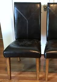 How to Re Cover Dining Chairs Without a Sewing Machine I ve been