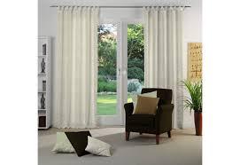 vorhang dangard beige material stoff motiv gemustert