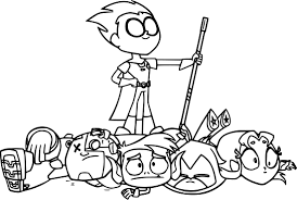 Robin Teen Titans Go Victorious Coloring Page Wecoloringpage