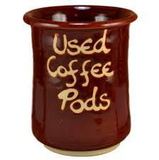 Red Honey Used Coffee Pod Holder