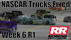 Never Give Up ! - NASCAR Trucks Fixed @ Richmond - S2 W6 R1 2018 ...