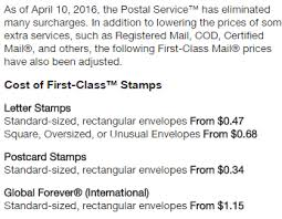 How many stamps do you need to send letters within the United States