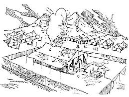 15 Images Of Church Tabernacle Coloring Pages