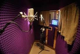Image 1 Is The Studio 2 A Seperate Room Where They Record ONLY VOCALS Vocal Booth Singer Knows Her Cue Because She Listens To Song Via