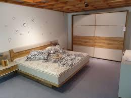 catania 308 schlafzimmer chagner dekor balkeneiche schwebetürenschrank bettanlage wiemann