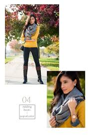 Or If You Dont Want To Wear Scarves Pair These Sweaters With Nice Necklaces And Other Jewelry Jeans Flats Heels