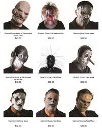 Slipknot Halloween Masks For Sale by Slipknot Masks Arrive Just In Time For Halloween Daily Headbänger