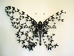 Cheap Home Decorations Paper Craft Ideas For Kids And Adults Handmade Wall Butterflies