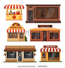 Building clipart clothes shop 9