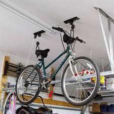 Ceiling Bike Rack Flat by Garage Bicycle Hoist Bl 7112 Bike Storage Racks Discount Ramps