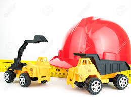 100 Digger Truck Videos Red Safety Helmet With Mechanical And Toy Engineering