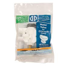 Foot Pedal Faucet Kit by Sealand Toilet Water Valve Kit Dometic 385314349 Toilet