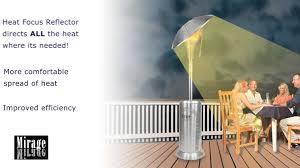 Mainstays Patio Heater Instructions by Mirage 15kw Heat Focus Patio Heater Youtube
