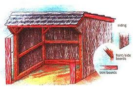 how to build a timber frame woodshed diy mother earth news