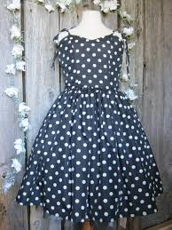 Teen Girls Dress 50s Dots Satinromantic Formal Sweetheart Neckline