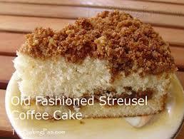 Cinnamon Streusel Coffee Cake Recipe