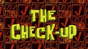That Sinking Feeling Spongebob Transcript by The Check Up Encyclopedia Spongebobia Fandom Powered By Wikia