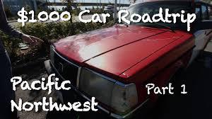 $1000 Car Road Trip Seattle - San Francisco - Part 1 - YouTube