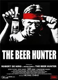 The Beer Hunter Robert DE NIRO Funny Film Classic Retro Decorative Poster DIY Wall Sticker Home
