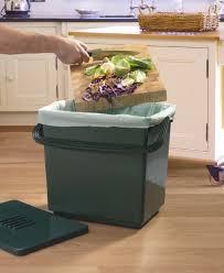 kompostbehälter für die küche grün