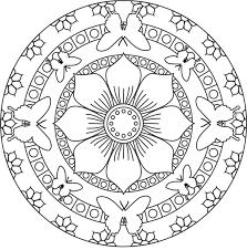 Download Coloring Pages Free Mandala Latest Printa 27168