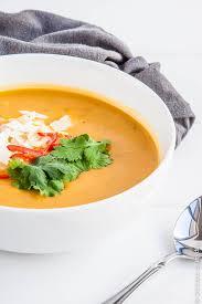 Pumpkin Butternut Squash Soup Vegan by Thai Pumpkin Soup With Coconut Milk Vegan Delicious Everyday