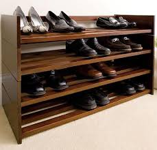 dear guide to get wood shoe rack bench plans
