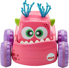 Press 'n Go Monster Truck Pink - Fisher-Price - Fisher-Price - Baby ...