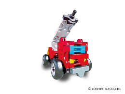 LaQ Hamacron Constructor MINI FIRE TRUCK - 1 Model, 38 Pieces. Made ...