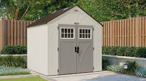 7x7 Shed Home Depot by Suncast Bms7400 Cascade Blow Molded Resin Storage Shed Youtube