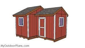 12x8 8x8 gable shed plans diy plans pinterest wooden