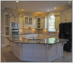 Pickled Oak Cabinets Glazed by Refinishing Pickled Oak Cabinets Home Design Ideas