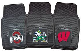100 Ford Truck Mats Fanmats NCAA Logo Floor Officially Licensed College Team